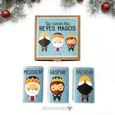 "Caja Chocolatinas ""Reyes Magos"""
