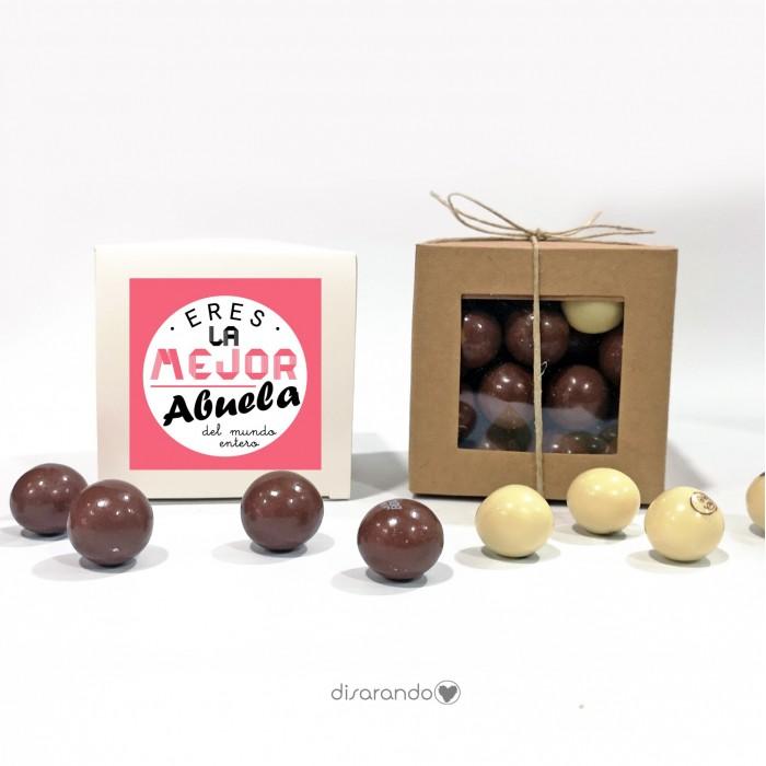 """Caja Bombones Chocolate """"Abuela"""""""
