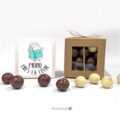 """Caja Bombones Chocolate """"Primo"""""""