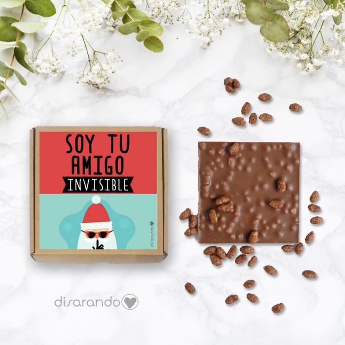 "Tableta chocolate ""Amigo Invisible"""