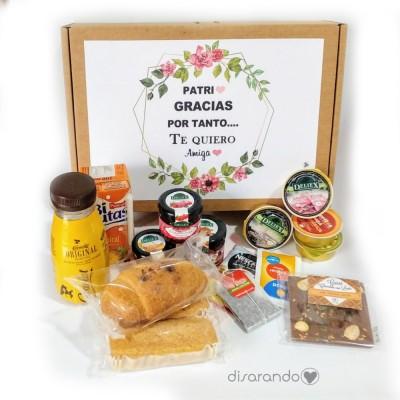 Kit desayuno personalizado (Varios diseños de caja)