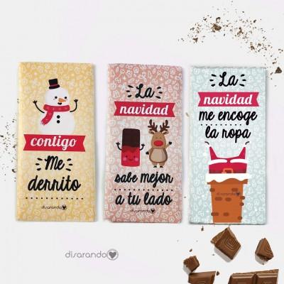 Tableta Chocolate Fun Navidad (Una unidad)