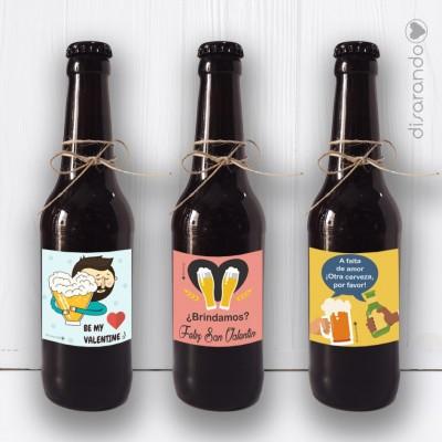 Botellín Cerveza Artesana San Valentín