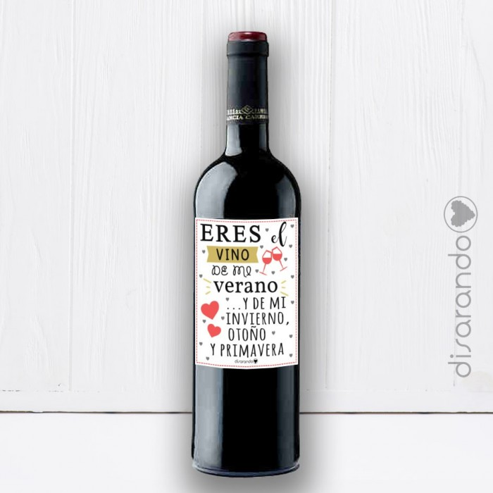 Botella Rioja Enamorados