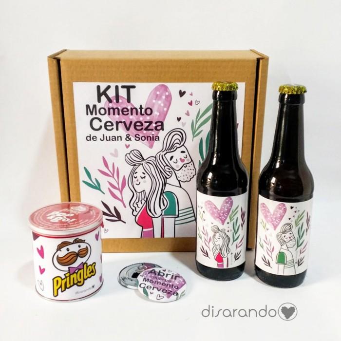 Kit Cerveza Love Personalizado