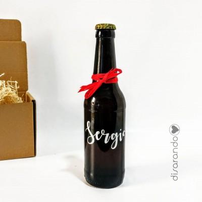Botellín Cerveza Artesana Personalizada