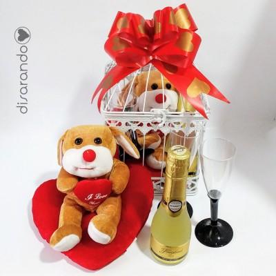 Jaula Regalo San Valentín