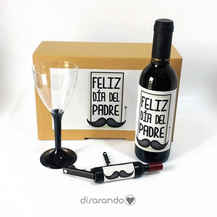 """Kit Vino """"Feliz Dia del Padre"""""""