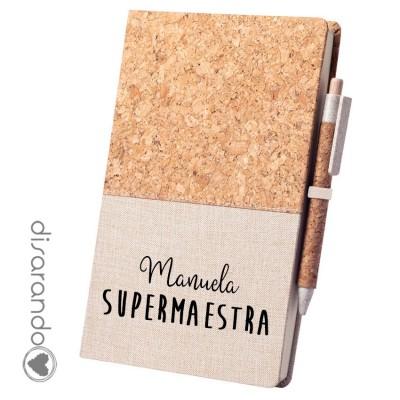 Libreta Superprofe (personalizable)