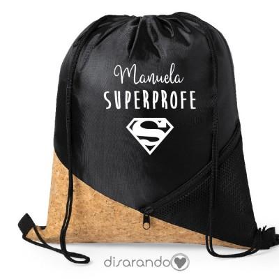 Mochila Corcho Super (personalizable)