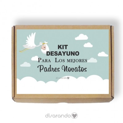 Caja personalizable 04 Baby Cigueña (Rectangular o Picnic)