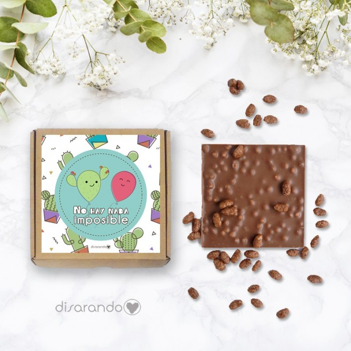 Tableta chocolate No hay nada imposible