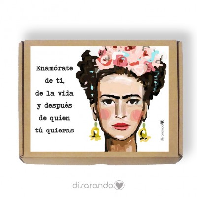 Caja personalizable 47 Frida (Rectangular o Picnic)