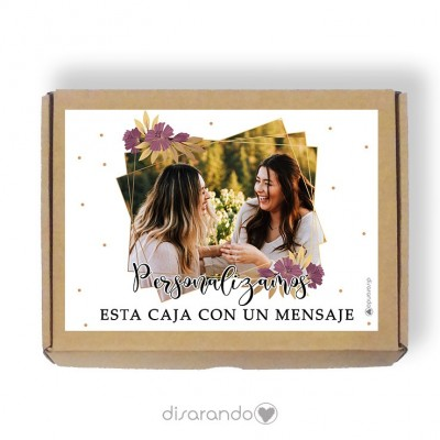 Caja Personalizable 02 Gold (Rectangular o Picnic)