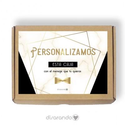 Caja Personalizable 06 Marmol Black (Rectangular o Picnic)