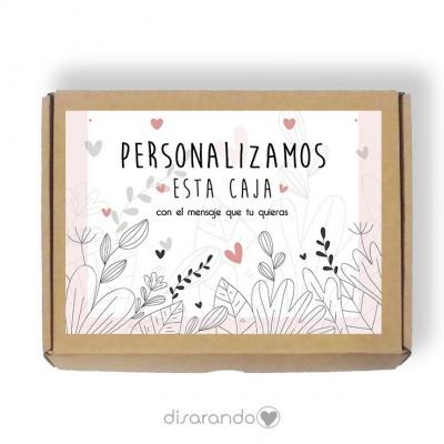 Caja Personalizable 11 Caligrafic (Rectangular o Picnic)