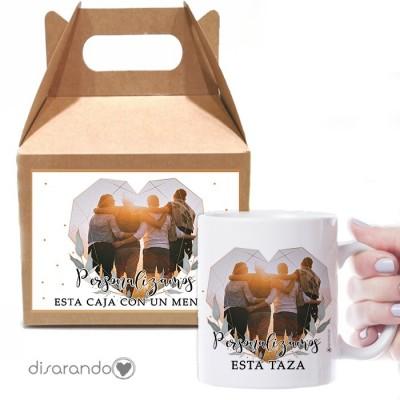 Caja Picnic + Taza Personalizable 01 Foto