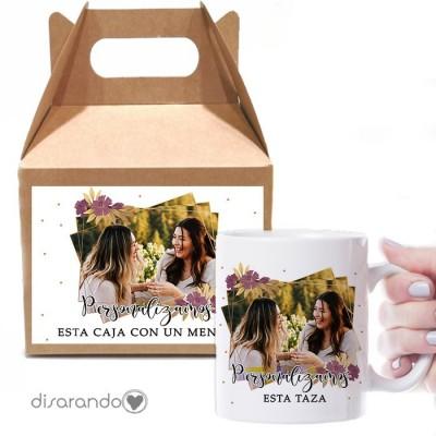 Caja Picnic + Taza Personalizable 02 Foto