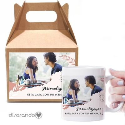 Caja Picnic + Taza Personalizable 03 Foto