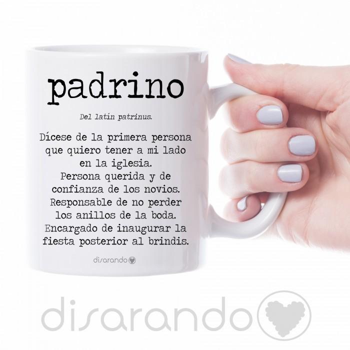 "Taza definición personalizable ""Padrino Boda"""