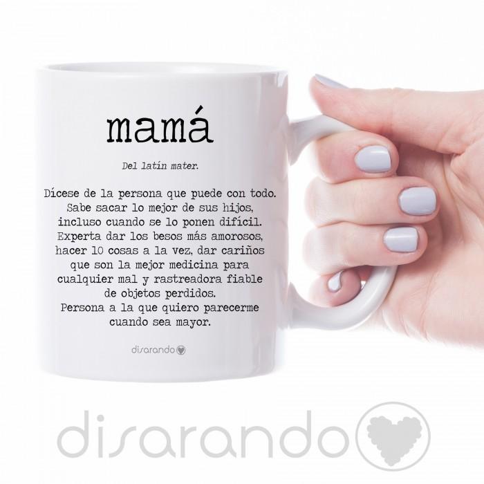 "Taza definición personalizable ""Mamá"""