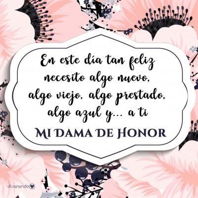"""Colección """"Dama de Honor (flores)"""""""