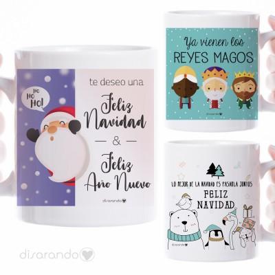 Taza Navidad (varios modelos)