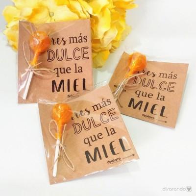 Chupa Chups Miel (PARA EMPRESAS)