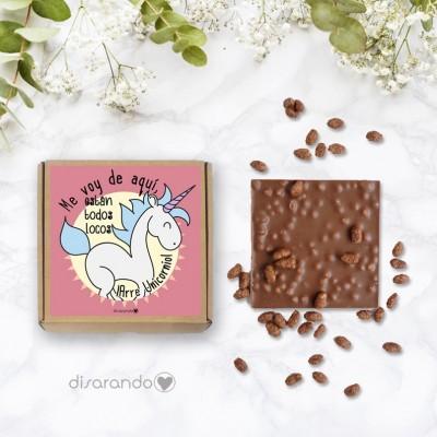 Tableta chocolate pequeña (PARA EMPRESAS)