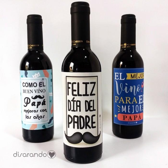 Botella Rioja Papá