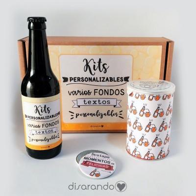 Kit cerveza personalizado (PARA EMPRESAS)