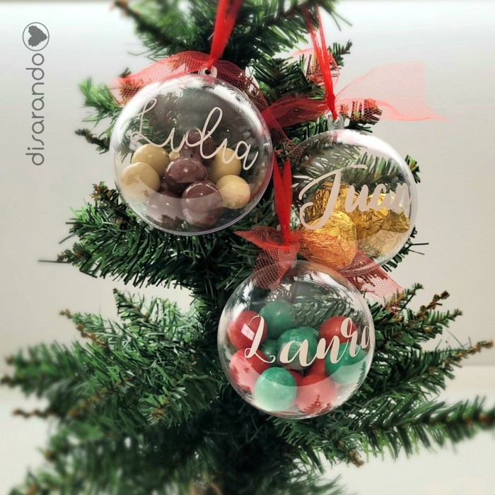 Bola Navidad Nombre