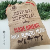 Saco Navidad Personalizable Reyes Magos