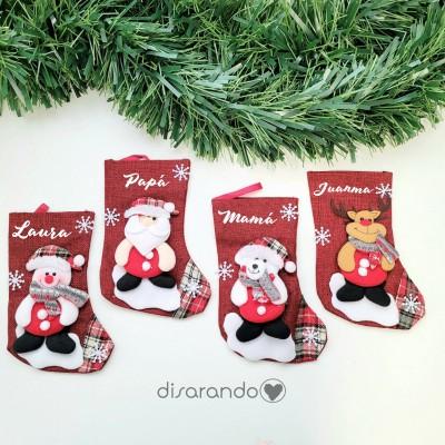 Calcetín Navidad Personalizable