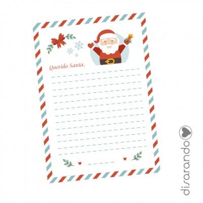 Carta Papá Noel (GRATIS/DESCARGA)
