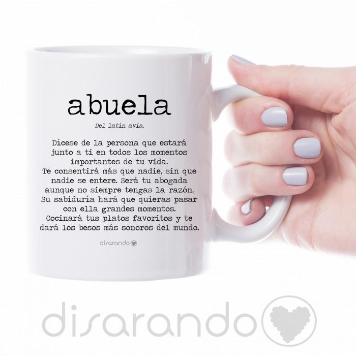 "Taza definición ""Abuela"""