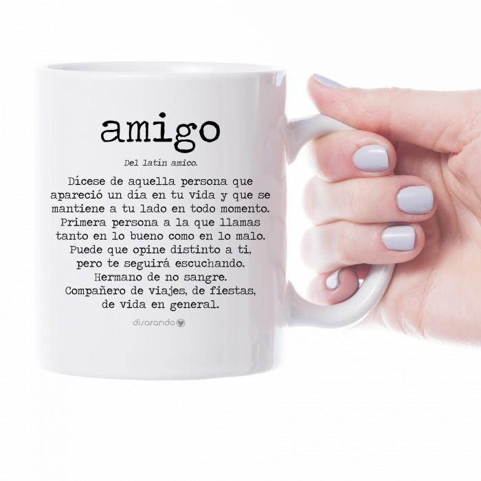 """Taza definición personalizable """"Amigo"""""""