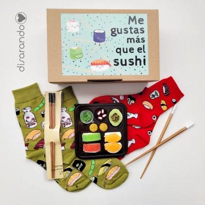 """Kit Sushi """"Me gustás más que el sushi"""""""