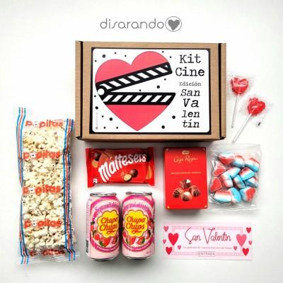 "Kit Cine ""Edición San Valentín"""