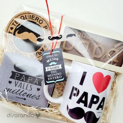 """Cesta """"Te quiero papá"""""""