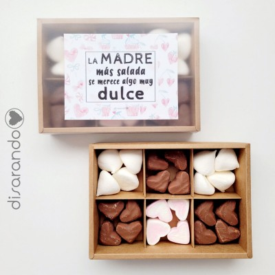 "Caja Dulces Mamá ""Pink&Chocolate"""