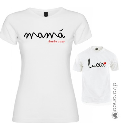 Camiseta Nombres Familia