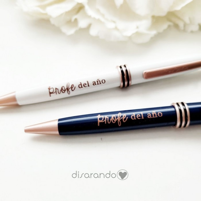"Bolígrafo ""Profe del año"""