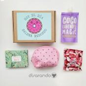 """Caja Beauty&Sweet """"Hoy el día saldrá redondo"""" (mint)"""
