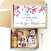 Kit desayuno personalizado + TAZA (Varios diseños de caja)