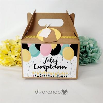 Caja Feliz Cumpleaños
