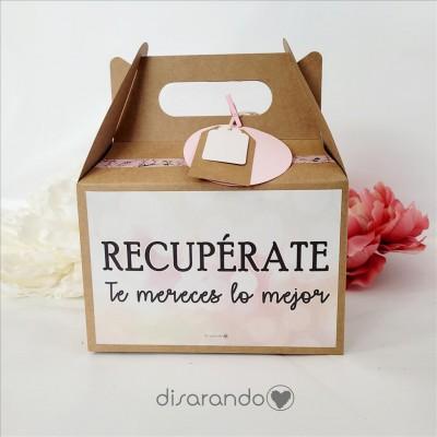 """Caja Picnic """"Recupérate"""""""