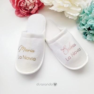 Zapatilla Personalizable novia (blanca)