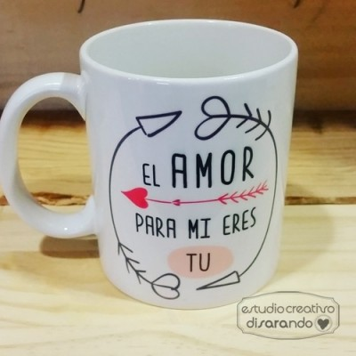 Taza El Amor