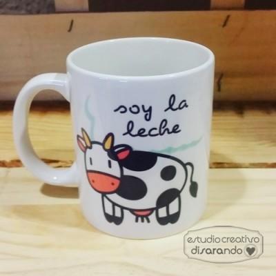 Taza Soy la Leche